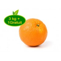 Orange naveline / 3kg + 1 offert
