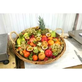 Corbeille de fruits festive 10kg-12kg /50€
