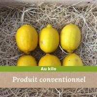 Citron jaune madisfrais
